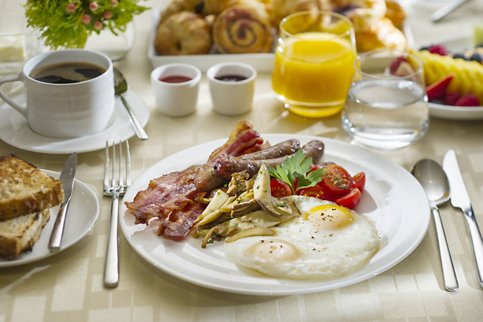 Breakfast in Bangkok