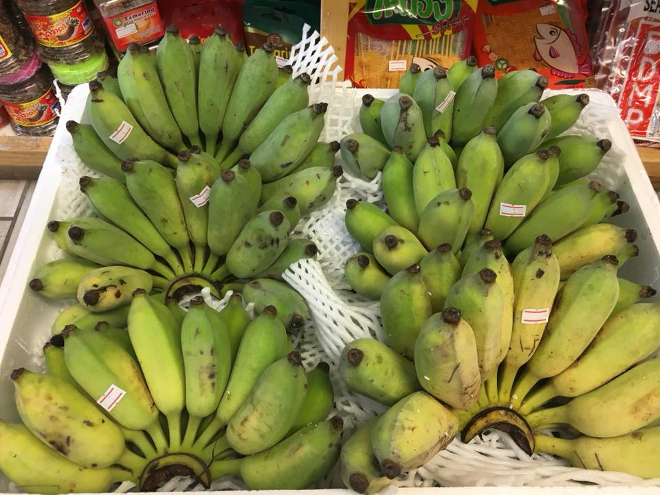 Fresh Thai fruit in Portsmouth Hampshire the south coast of England